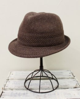 Rib basque hat(BROWN)