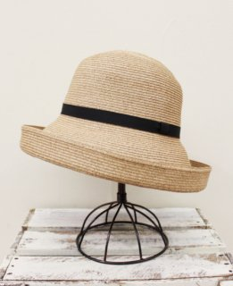 Paper Braid Cloche(BEIGE)