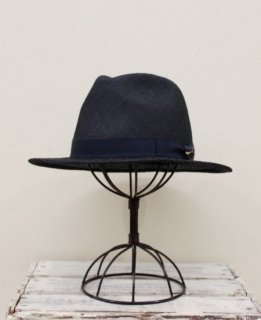 PATTEN STITCH HAT(NAVY)