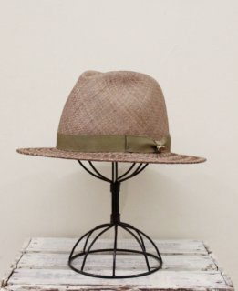 PATTEN STITCH HAT(BROWN)