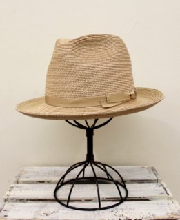 FRONT PINCH HAT/JUTE BRAID(BEIGE)