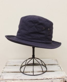 MILITARY RIP-STOP QUILT HAT (NAVY)