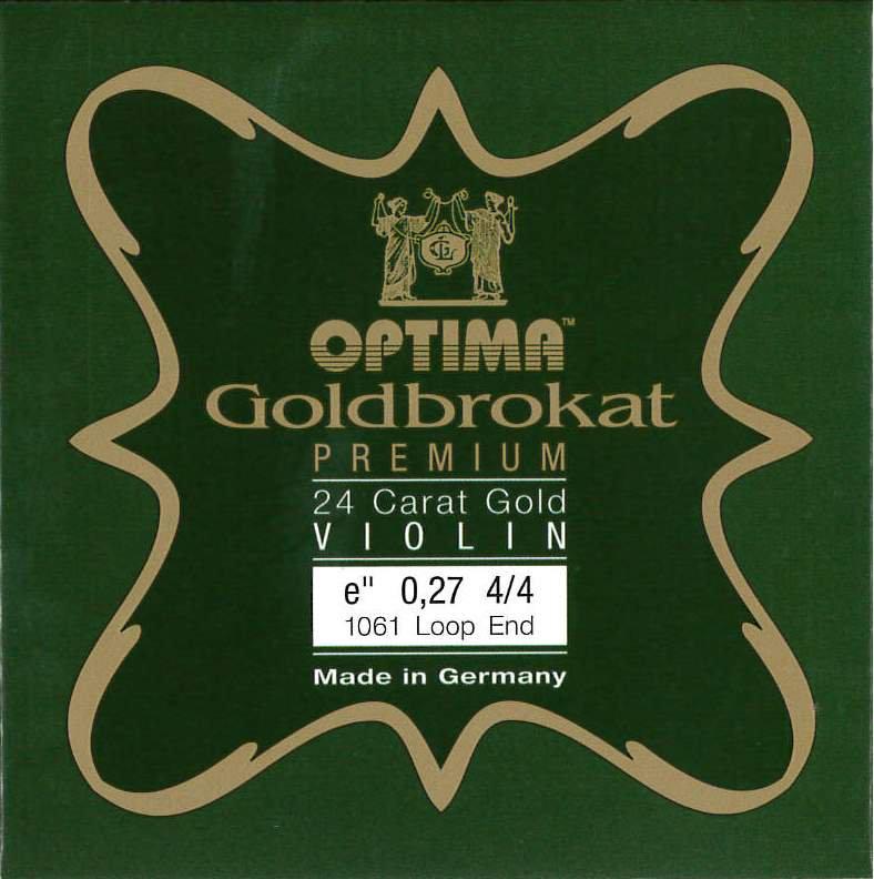 Violin 【Goldbrokat Premium】 E線 (0.27) ゴールド