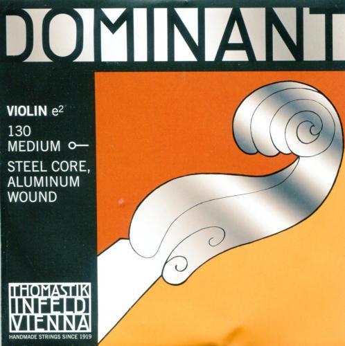 Violin 【Dominant】 E線 (アルミ巻・ボール)
