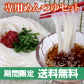 <img class='new_mark_img1' src='https://img.shop-pro.jp/img/new/icons25.gif' style='border:none;display:inline;margin:0px;padding:0px;width:auto;' />【送料無料】期間限定商品 稲庭うどんめんつゆ2本付き 6人前【贈答用/紙箱入り】【お中元】
