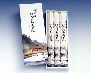 【P-15】贈答用 稲庭うどん 紙箱入り 4〜6人前