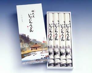 【P-20】贈答用 稲庭うどん 紙箱入り 6〜8人前