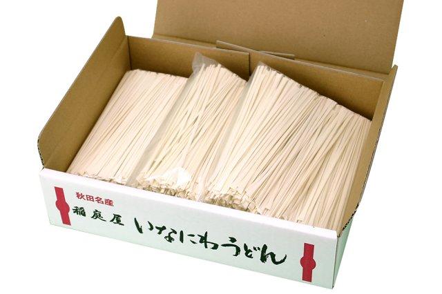 【送料無料】ご家庭用 稲庭うどん『切り落とし(切れ端)』12人前(400g×3袋)