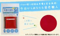 そめそめキット クラフト用 レッド / 染色助剤から色止め剤まですべてセット