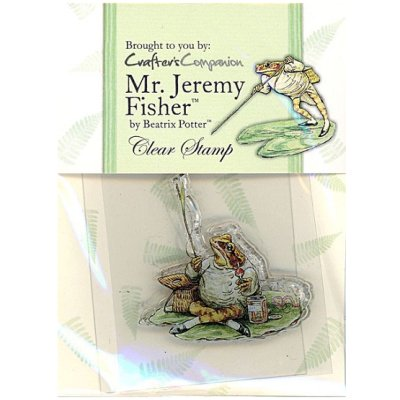 【クリアスタンプ】ジェレミー・フィッシャーどん*ピーターラビットシリーズ