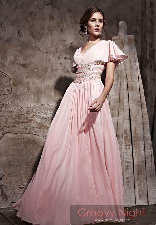 少し露出を抑えておしとやかに お嬢様ロングドレス♪