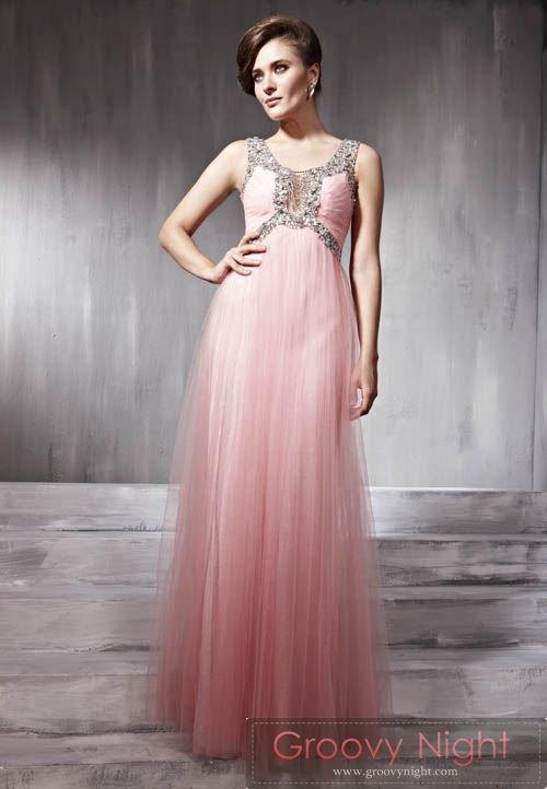フワフワピンクとキラキラゴージャスのコラボレーションロングドレス♪
