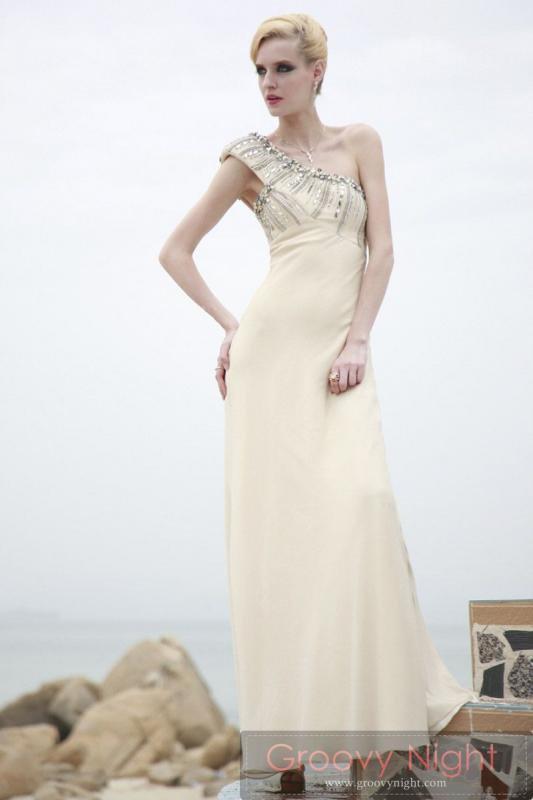 ギリシアからの贈り物 神々しいアフロディーテロングドレス♪