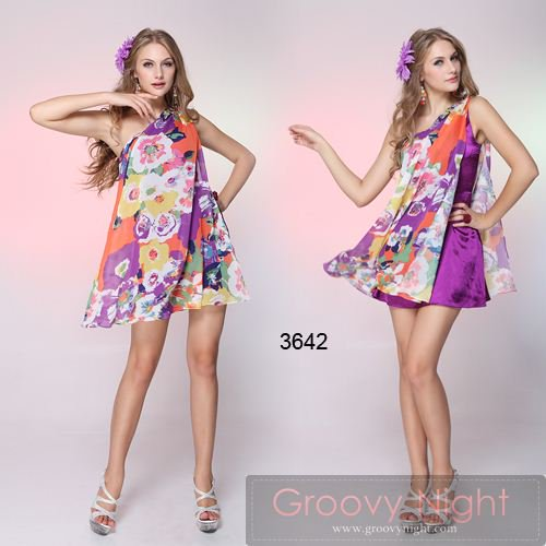 生命力あふれる1着 いつもより元気になれるアイドルショートドレス♪