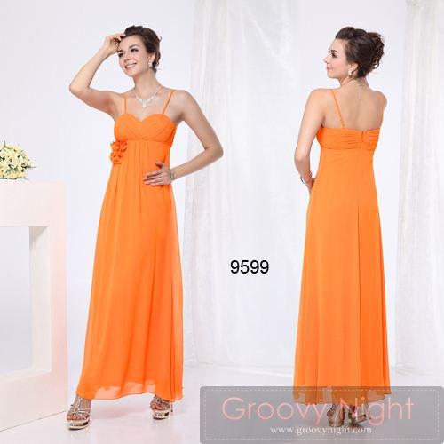 珍しい2カラー!! スラリとしたスタイルに魅せるシンプルロングドレス♪