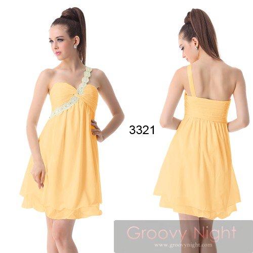 綺麗な3カラー!!大好きなカラーでおでかけprettyショートドレス♪
