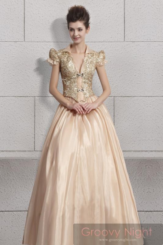 女王の風格!! 演奏会などの大舞台にも最適な高級ロングドレス♪