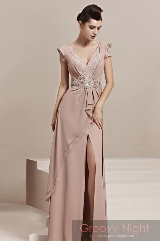 エレガントなベルトライン!! プリンセス風高級ロングドレス♪
