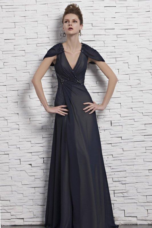 細身カラーで魅せる! ハイグレード高級ロングドレス♪