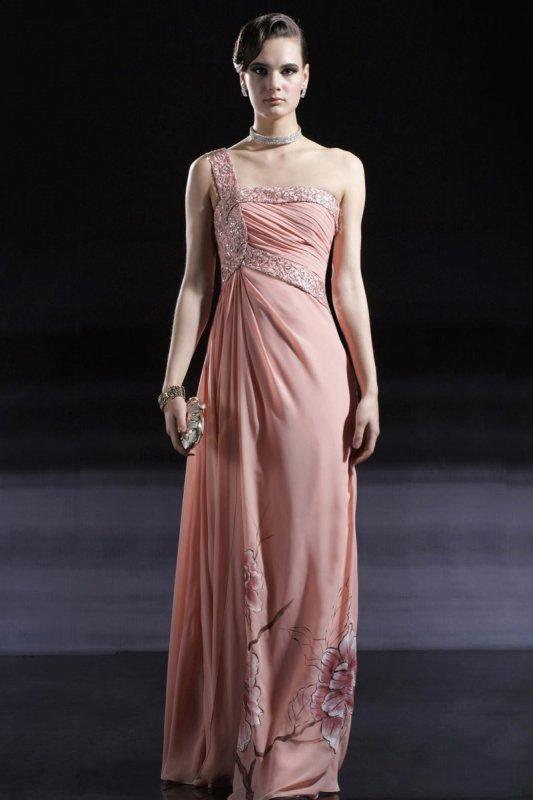 ピンクでキメる☆ セレブロングドレス♪