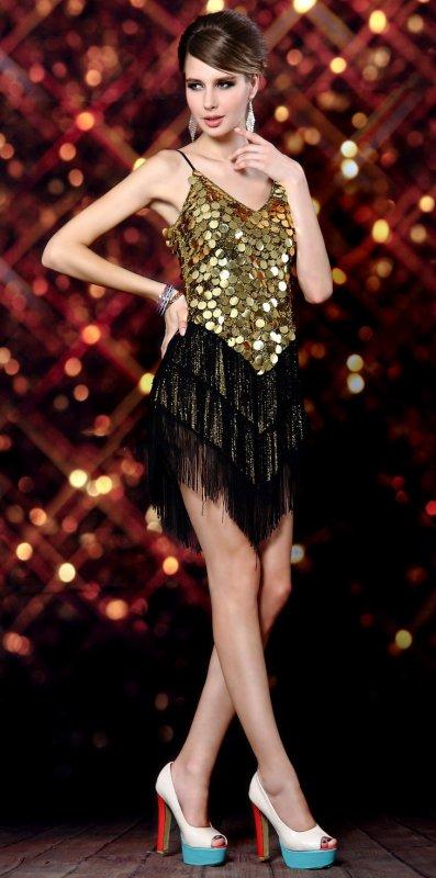 選べる2カラー☆ ダンスにも最適! ステージドレス♪