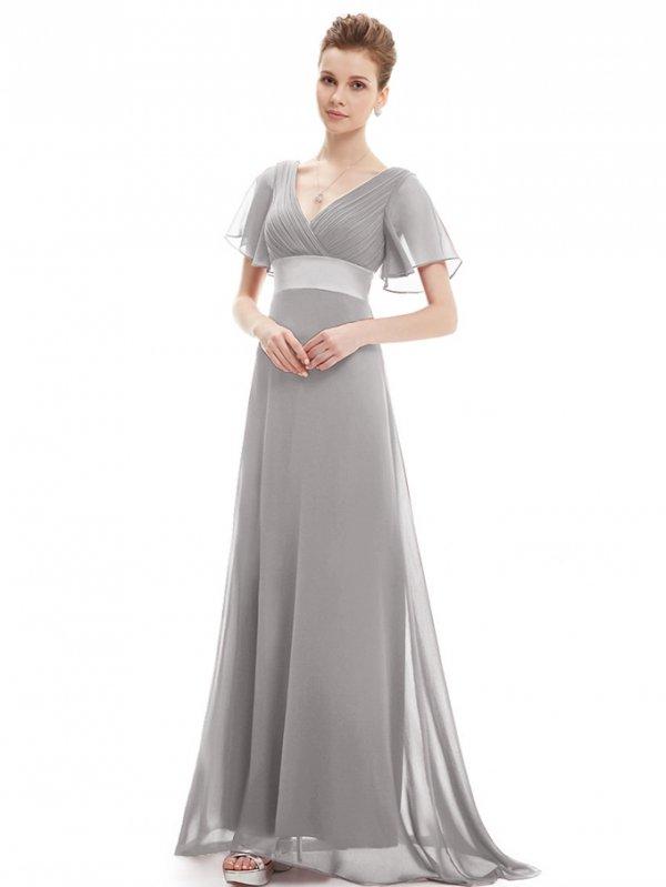 袖付き ロングドレス 大きいサイズ 演奏会 結婚式 発表会