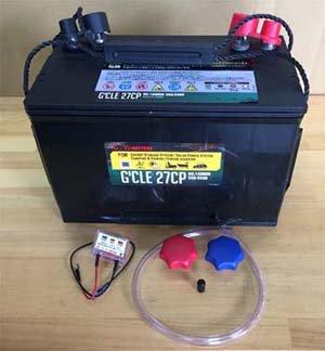 ディープサイクルバッテリー 105A 115A