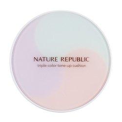 【NATURE REPUBLIC】トリプル カラー トーン アップ クッション SPF50/PA+++ 15g