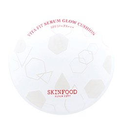 【SKIN FOOD】ビタ フィット セラム グロー クッション SPF50+/PA+++ 15g