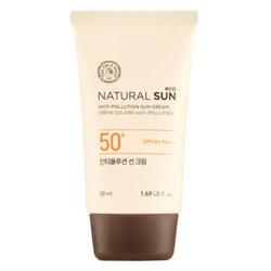 【THE FACE SHOP】ナチュラル サン エコ アンチフルローション サン クリーム SPF50+/PA++++ 50ml
