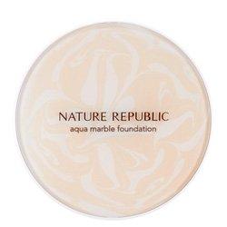 【NATURE REPUBLIC】アクア マーブリング ファンデーション SPF50+/PA+++ 14g