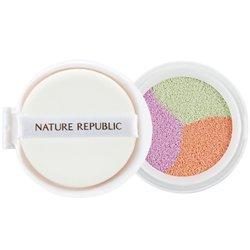 【NATURE REPUBLIC】トリプル カラー トーン アップ クッション_詰め替え用 15g