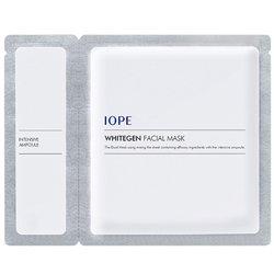 【IOPE】ホワイトゼン フェイシャル マスク 1枚