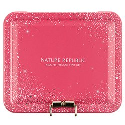 【NATURE REPUBLIC】キス マイ ムース ティント 6種 キット (ピンク) 9g