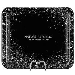 【NATURE REPUBLIC】キス マイ ムース ティント 6種 キット (ブラック) 9g