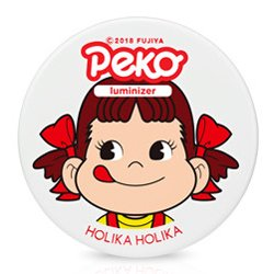韓国コラボコスメホリカホリカ(Holika Holika)ペコちゃん ミルキーゼリー ルミナイザー 6g