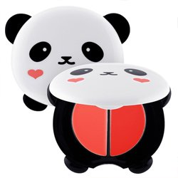 トニーモリー(TONYMOLY)パンダの夢 デュアル リップ アンド チーク 1.7g*2(リップメイクアップコスメ)(韓国リップメイクコスメ)
