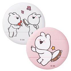 韓国コラボコスメザ セム(the saem)オーバーアクションウサギ クッション パフ (02 リズムアクション) 2P