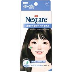 ネクスケア(Nexcare)ブレミッシュ クリア カバー リリーフ (ニキビパッチ) 45+30枚