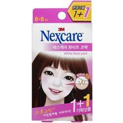【Nexcare】ブレミッシュ クリア 鼻パック ホワイト 8+8枚