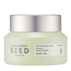 【THE FACE SHOP】グリーン ナチュラル シード 抗酸化 クリーム 50ml