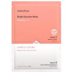 イニスフリー【Innisfree】ブライト ソリューション マスク (ファーミング) 22ml