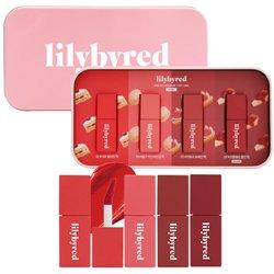 【lilybyred】ロマンティック ムース ティント ミニキット&ティンケース (ピンク)