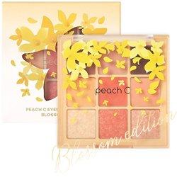 ピーチシー【peach C】アイシャドウ パレット _ブロッサム エディション (オレンジコーラル) 10g