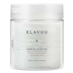 クラビュー【KLAVUU】ピュア パールセーション pH バランシング クイック クレンジング パッド 380ml