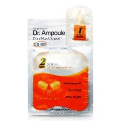 【ETUDE HOUSE】Dr.アンプル デュアル シートマスク (集中栄養)