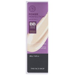 【THE FACE SHOP】パワーパーフェクション BBクリーム SPF37/PA++ 40g