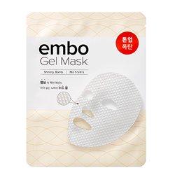 【MISSHA】エンボ ゲル マスク (シャイニング ボム) 30g
