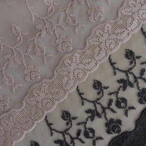 刺繍チュール 20cm幅 インケミカル