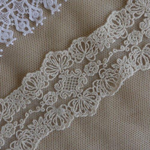 綿刺繍チュール 5.5cm幅